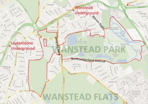 Wanstead Park map