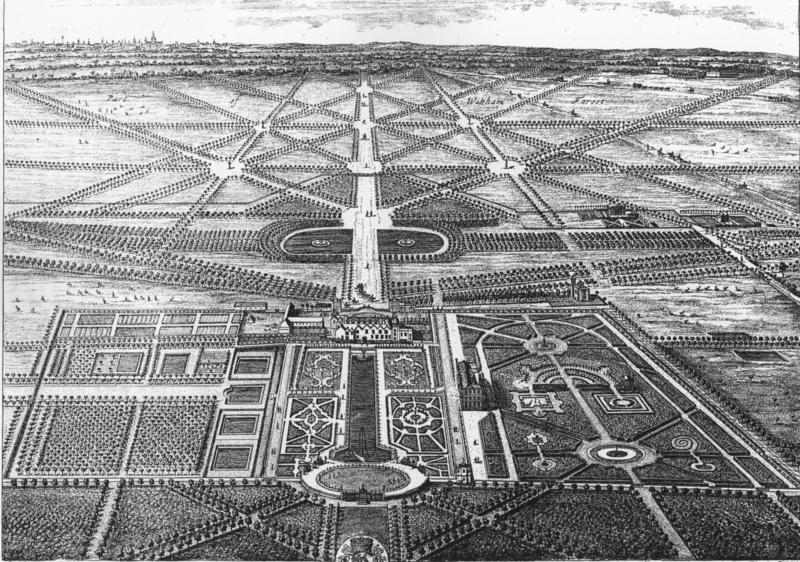 Engraving of Wanstead Park