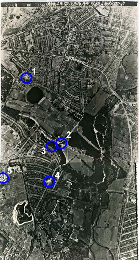 Aerial photograph, 7th August 1944