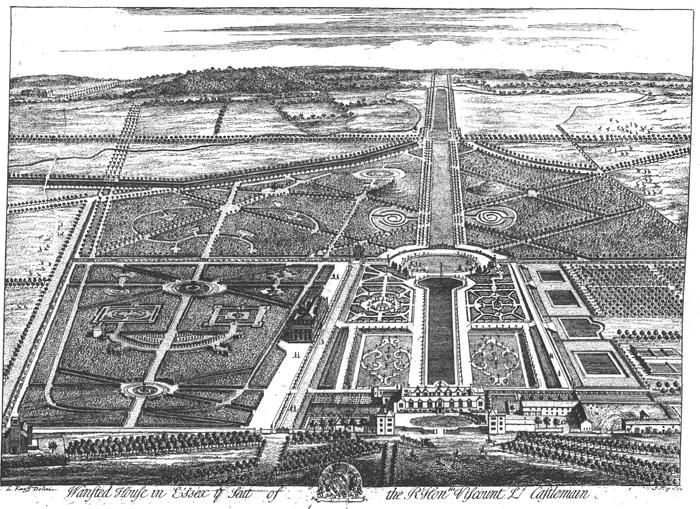 Jan Kip and Leonard Knyff. Wanstead: view to the east c.1712-15