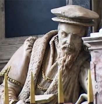 Richard, 1st Baron Rich, from his monument in Felsted Church, Essex