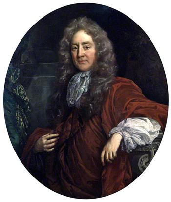 Sir Josiah Child, Bt. Attributed to John Riley. Image © National Portrait Gallery, London
