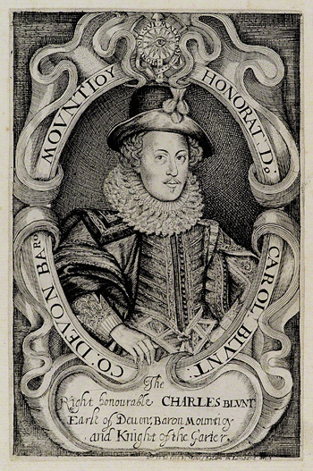 Charles Blount, Earl of Devonshire. Image © National Portrait Gallery, London
