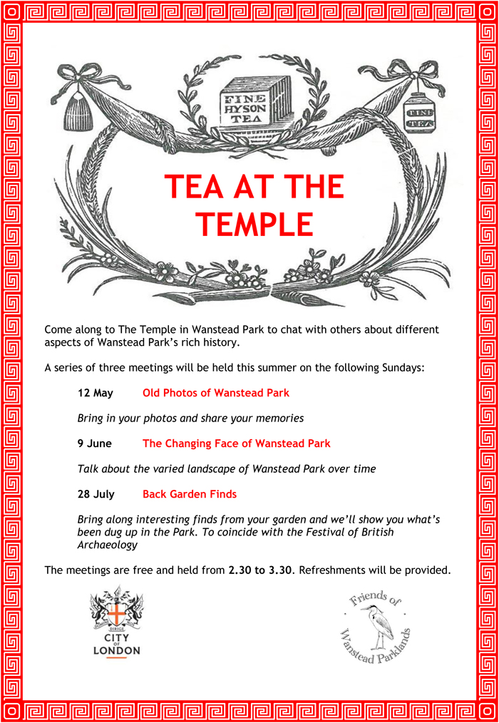 TEA AT THE TEMPLE