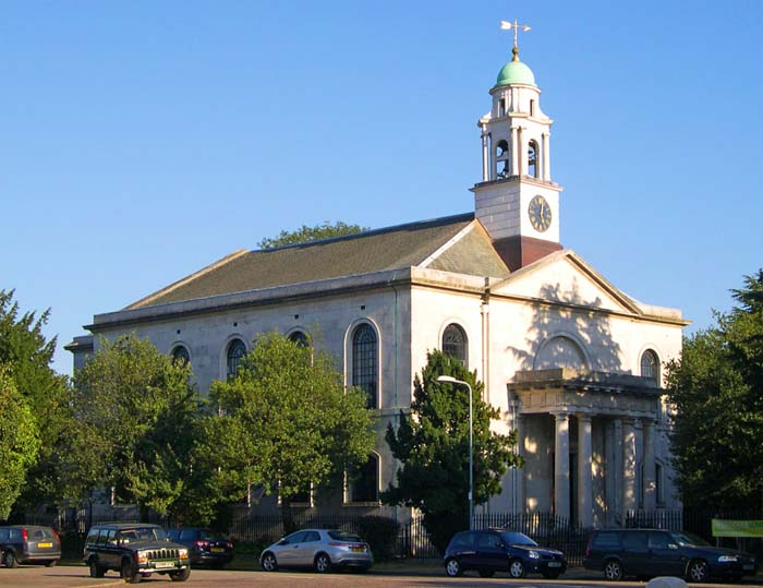 St Mary's Church, Overton Drive