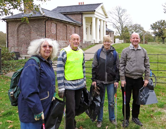 Jo Fensome, Alan James, Gill James and Richard Arnopp. Tim Harris and Sharon Payne of the Wren Group missed the group photo.