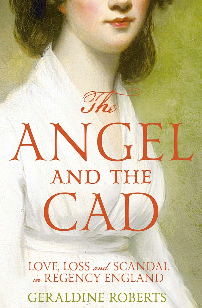 The Angel and the Cad paperback cover 700px